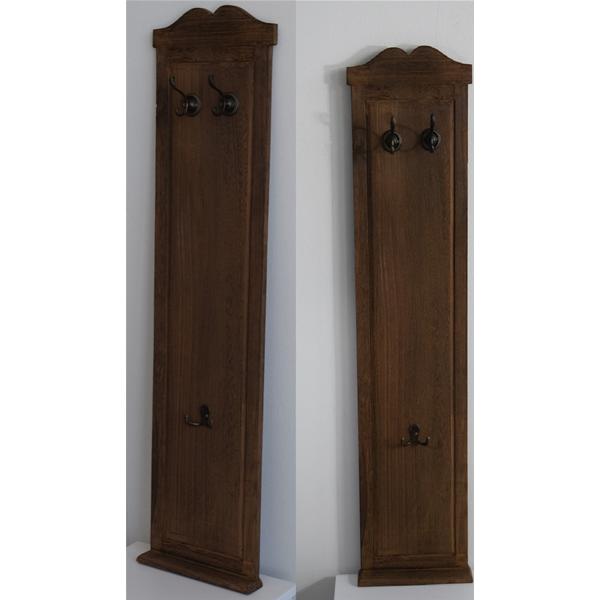 Appendiabiti da parete attaccapanni 6 ganci legno marrone classico ingresso ebay - Attaccapanni da parete ikea ...