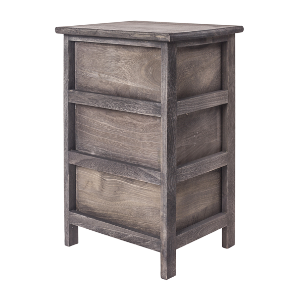 Mobili rebecca bedside table chest of drawers 3 drawer for Rebecca mobili srl