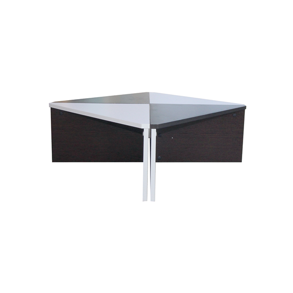 Low Modern Coffee Table: Mobili Rebecca® Coffee Table Low Table Square Brown White