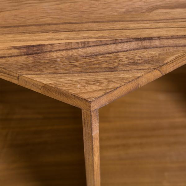Wohnzimmer Holz Modern: Mobili Rebecca® Couchtisch Tischchen Sechseckig Holz
