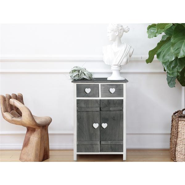 Mobili rebecca credenza mobile 2 cassetti 2 ante bianco grigio shabby cucina ebay - Pomelli per mobili cucina ...