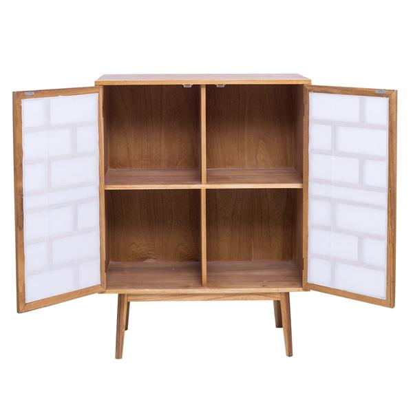 mobili rebecca credenza mobile soggiorno legno bianco