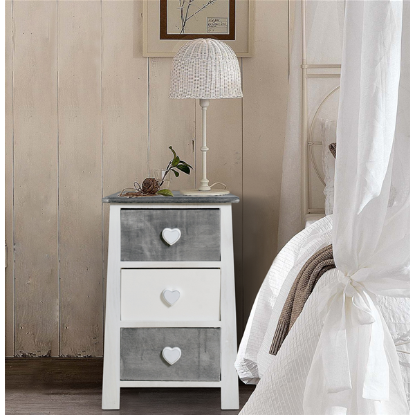 best nachttisch shabby chic photos. Black Bedroom Furniture Sets. Home Design Ideas