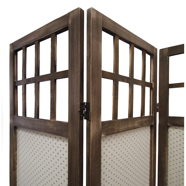 Wooden Screen Bedroom ~ Mobili rebecca partition privacy screen panel fabric