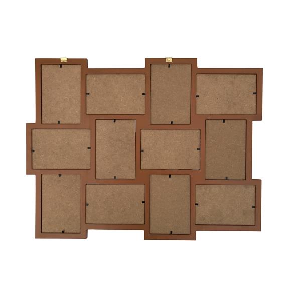 Mobili rebecca portafoto multiplo da parete 12 foto legno - Portafoto da parete ikea ...