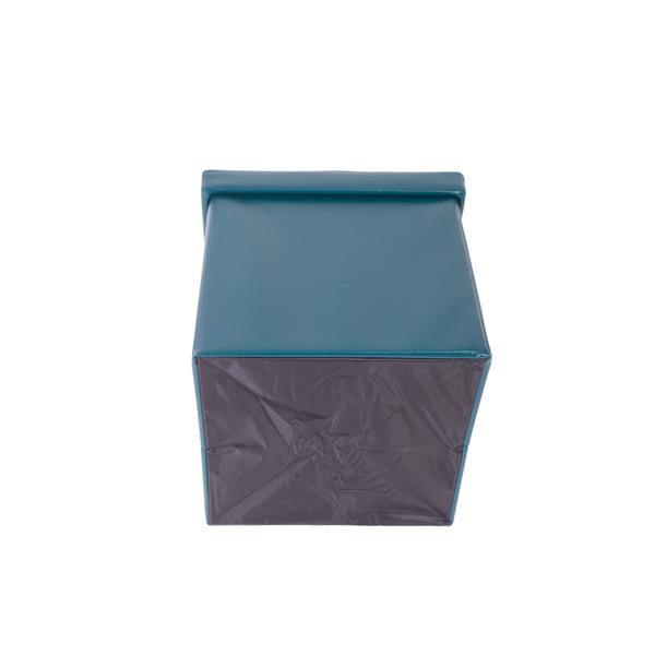 mobili rebecca pouf coffre de rangement repose pieds vert salon chambre ebay. Black Bedroom Furniture Sets. Home Design Ideas