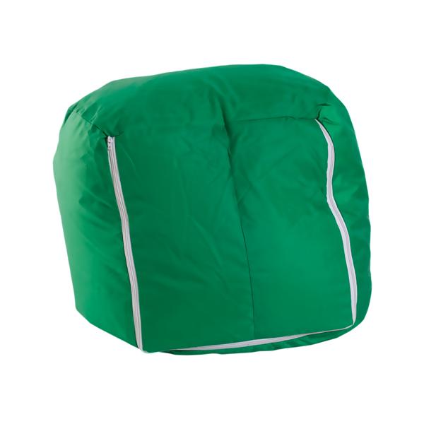 Simple pouf poltrona sacco verde relax confor sedia imbottita puff arredo with pouf poltrona - Poltrone sacco ikea ...