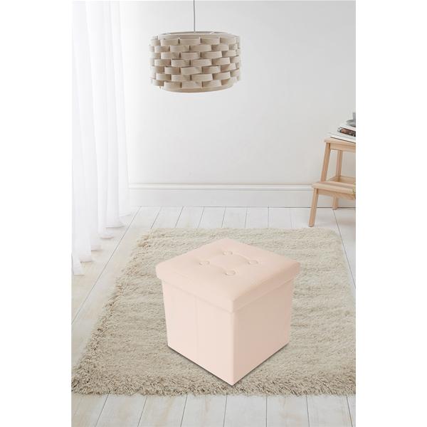 Mobili rebecca pouf sgabello contenitore cubo design for Ebay arredamento