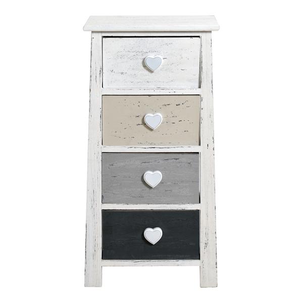 kommode grau fabulous kommode weiss lackiert grau geklkt woody holz modern jetzt bestellen. Black Bedroom Furniture Sets. Home Design Ideas