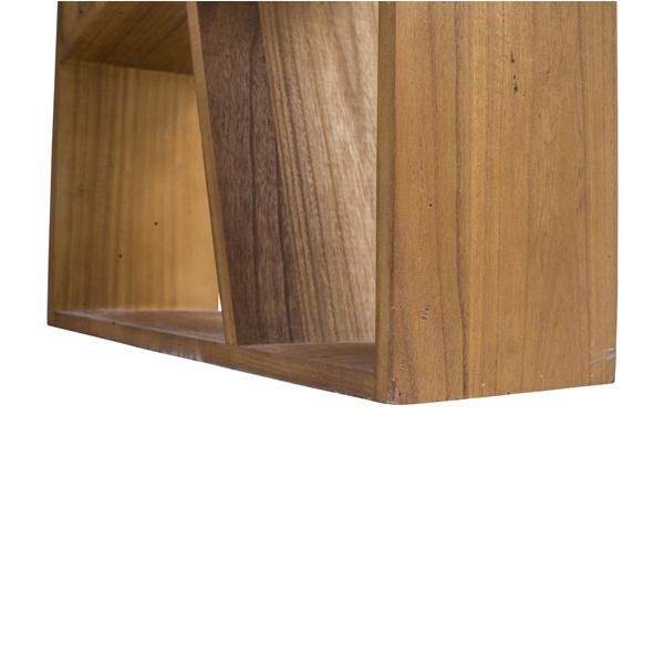 Mobili rebecca scrivania scrittoio legno bianco marrone for Mobili studio moderno