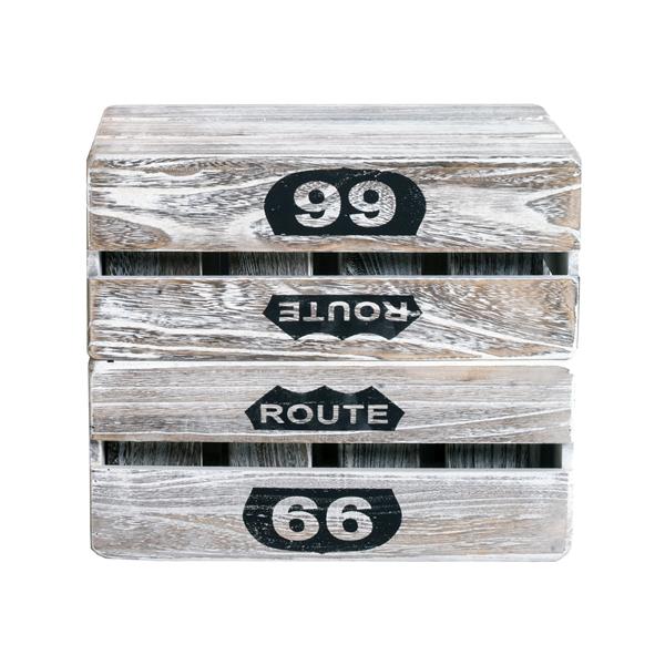Set 4 pezzi cassette scatole legno portaoggetti legno - Scatole portaoggetti ...