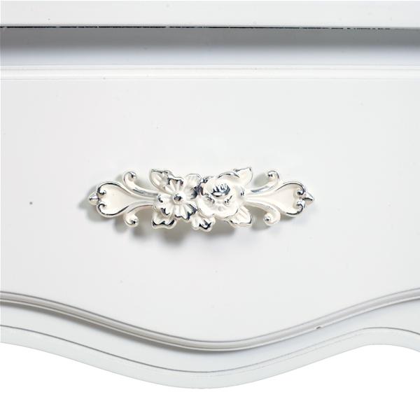 Mobili rebecca tavolini da salotto bianco stile classico 4 cassetti maniglie ebay - Mobili stile inglese bianco ...