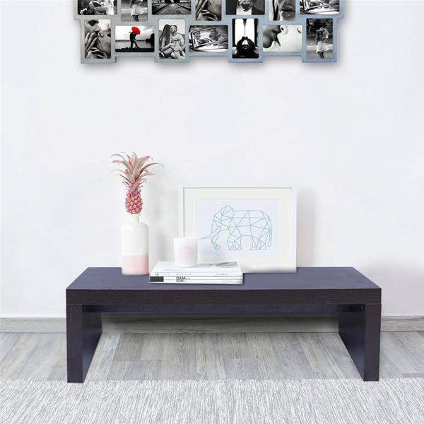 Mobili rebecca tavolino tavolo basso marrone legno stile moderno salotto ebay - Mobili stile moderno ...